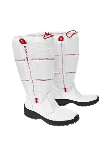 Bogner Çizme Beyaz